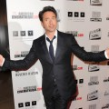 Robert Downey Jr. arrives at the The 25th American Cinematheque Award Honoring Robert Downey Jr. at The Beverly Hilton hotel in Beverly Hills, Calif. on October 14, 2011