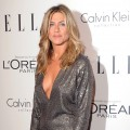 Jennifer Aniston arrives at the 18th Annual ELLE Women In Hollywood Tribute at The Four Seasons Hotel in Beverly Hills, Calif. on October 17, 2011