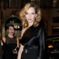 Uma Thurman seen looking glam at the Vertu Global Launch Of The &#8216;Constellation&#8217; in Milan, Italy on October 18, 2011 