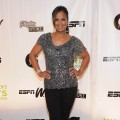 Laila Ali attends the 32nd Annual Salute To Women In Sports Gala at Cipriani Wall Street on October 19, 2011 in New York City