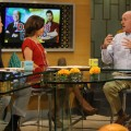"""Dancing with the Stars"" judge Len Goodman stops by Access Hollywood Live on October 25, 2011"