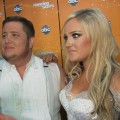 Chaz Bono and Lacey Schwimmer chat with Access Hollywood after 'Dancing with the Stars' on October 25, 2011