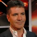 Simon Cowell chats with Access Hollywood after'The X Factor' on October 25, 2011