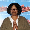 Whoopi Goldberg is all smiles at the 'Sister Act' Theatre premiere press conference at The Teatro Nazionale in Milan, Italy on October 27, 2011