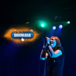 On The Download: Portishead performs at the Shrine Expo Center in Los Angeles, Calif. on October 18, 2011