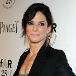 Sandra Bullock steps out at The 2011 amfAR Inspiration Gala Los Angeles held at the Chateau Marmont in Los Angeles on October 27, 2011