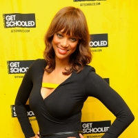 Tyra Banks and the Get Schooled Foundation visit 400 Students in the Bronx in New York City on October 19, 2011 