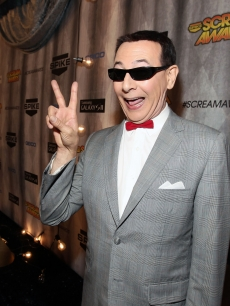 Paul Reubens aka 'Pee-wee Herman' arrive at Spike TV's 'SCREAM 2011' awards held at Universal Studios on October 15, 2011