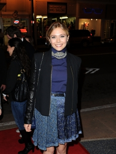 Elizabeth Olsen attends the Martha Marcy May Marlene Screening during the 2011 Mill Valley Film Festival at Christopher B. Smith Rafael Film Center in San Rafael, Cali., on October 15, 2011