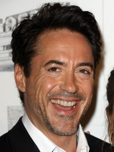 Robert Downey Jr. attends the 25th American Cinematheque award ceremony at The Beverly Hilton hotel in Beverly Hills, Calif., on October 14, 2011