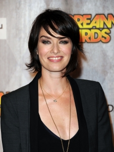 129304176'Game of Thrones' star Lena Headey on the red carpet at the 2011 Scream Awards on the Universal Studios lot, Hollywood, Oct. 15, 2011