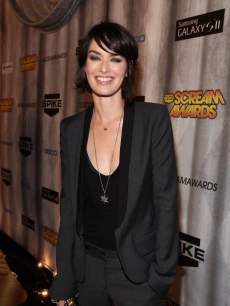 'Game of Thrones' star Lena Headey on the red carpet at the 2011 Scream Awards on the Universal Studios lot, Hollywood, Oct. 15, 2011