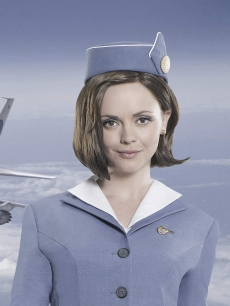 Christina Ricci in 'Pan Am'