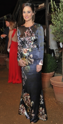 Pippa Middleton dazzles at the All Saints party in Richmond, England on October 13, 2011