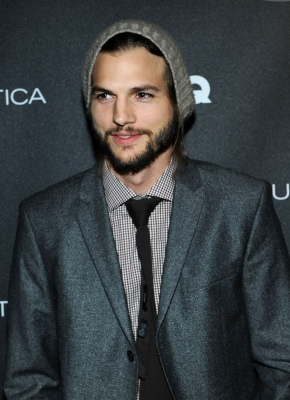 Ashton Kutcher attends GQ's Gentlemen's Ball Presented By Gentleman Jack, Land Rover, Movado, and Nautica at The Edison Ballroom, NYC, on October 26, 2011