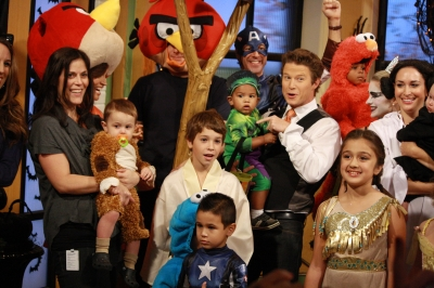 The gang's all here for the Access Hollywood Live Kids Halloween Costume fashion show!