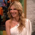 Brandi Glanville stops by the set of Access Hollywood Live on October 31, 2011