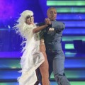 Karina Smirnoff and J.R. Martinez perform their &#8216;Ghostbusters&#8217; dance on &#8216;Dancing with the Stars,&#8217; Oct. 31, 2011