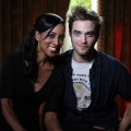 Access Hollywood's Shaun Robinson with Robert Pattinson at 'The Twilight Saga: Breaking Dawn — Part 1' junket, Los Angeles, Nov. 3, 2011
