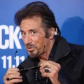 Al Pacino strikes a pose at the Los Angeles premiere of 'Jack And Jill' in Westwood, Calif., on November 6, 2011