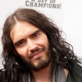 Russell Brand arrives at the Yahoo! Sports Presents A Day Of Champions event at the Sports Museum in Los Angeles on November 6, 2011