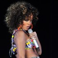 Rihanna performs at Hallenstadion in Zurich, Switzerland on November 7, 2011