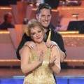 Nancy Grace and professional partner Tristan MacManus on 'Dancing with the Stars' on November 7, 2011