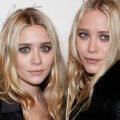 Ashley Olsen and Mary-Kate Olsen attend the Christian Louboutin Cocktail party at Barneys New York in New York City on November 1, 2011