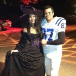 Jessica Alba and Cash Warren get in the Halloween spirit in Los Angeles on October 29, 2011