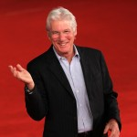 Richard Gere walks the red carpet during the 6th International Rome Film Festival in Rome, Italy, on November 3, 2011
