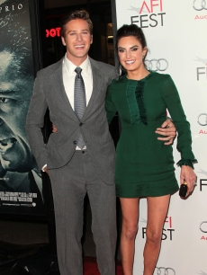 Armie Hammer and Elizabeth Chambers attend the AFI FEST 2011 Presented By Audi - &#8216;J. Edgar&#8217; Opening Night Gala at Grauman&#8217;s Chinese Theatre, Hollywood, on November 3, 2011