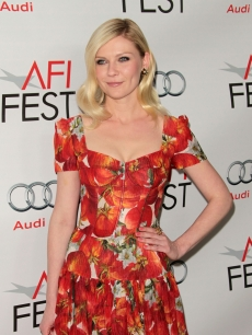 Kirsten Dunst steps out at the 'Melancholia' special screening during AFI FEST 2011 in Hollywood, Calif. on November 6, 2011