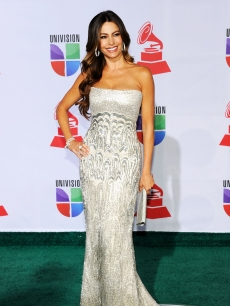 Sofia Vergara arrives at the 12th annual Latin GRAMMY Awards at the Mandalay Bay Resort & Casino, Las Vegas, on November 10, 2011