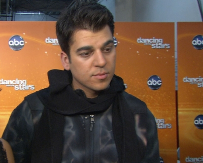 Rob Kardashian chats with Access Hollywood on October 31, 2011