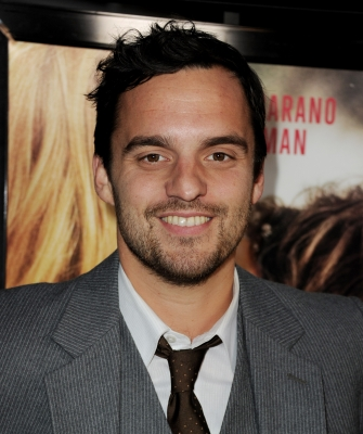 Jake Johnson arrives at the premiere of Magnolia Picture's 'Ceremony' at the Arclight Theater, Los Angeles, on March 22, 2011
