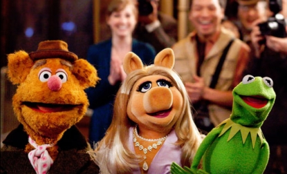 A scene from 2011's 'The Muppets'