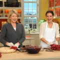Martha Stewart and Katie Holmes on 'The Martha Stewart Show,' Nov. 2011