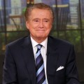 Regis Philbin attends a press conference on his departure from 'LIVE! with Regis and Kelly' at ABC Studios in New York City on November 17, 2011