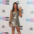 Jennifer Hudson steps out at the 2011 American Music Awards held at Nokia Theatre L.A. LIVE in Los Angeles on November 20, 2011