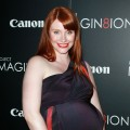 Bryce Dallas Howard show off her baby bump at a screening of 'When You Find Me' at the Ray Kurtzman Theater at CAA  in Los Angeles on November 21, 2011