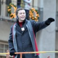 Scotty McCreery attends the 85th annual Macy's Thanksgiving Day Parade, New York City, November 24, 2011