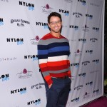 Kellan Lutz arrives at Nylon magazine's release party for their November issue at The Beverly restaurant in West Hollywood on November 10, 2011