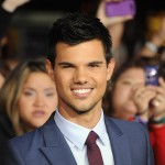 Taylor Lautner attends the premiere of 'The Twilight Saga: Breaking Dawn — Part 1' at the Nokia Theatre L.A. Live, Los Angeles, Nov. 14, 2011