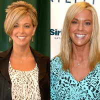 Kate Gosselin in April 2009/Kate Gosselin in October 2011