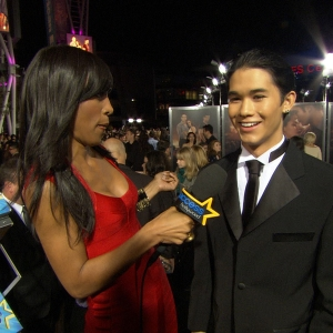 Booboo Stewart Trying To Take It All In At 'Breaking Dawn - Part I' Premiere
