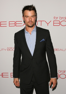 "Josh Duhamel attends the ""Beauty Book For Brain Cancer"" event on November 14,2011"