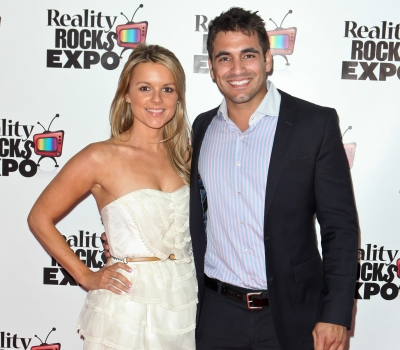 Ali Fedotowsky and Roberto Martinez attend the Reality Rocks Expo Fan Awards at the Los Angeles Convention Center on April 9, 2011 in Los Angeles