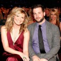 Jennifer Nettles and Justin Miller in the audience at ACM Presents: Girls' Night Out: Superstar Woman of Country at the MGM Grand Garden Arena, Las Vegas, April 4, 2011