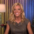 Kate Gosselin on Access Hollywood Live on November 29, 2011