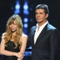 Drew Ryniewicz and Simon Cowell onstage at &#8216;The X Factor&#8217; Top 7 to 5 Live Elimination Show in Hollywood, Calif., on December 1, 2011